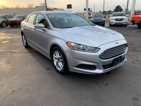 2014 Ford Fusion for sale at Summit Palace Auto in Waterford MI