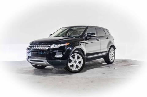 2012 Land Rover Range Rover Evoque for sale at CarXoom in Marietta GA