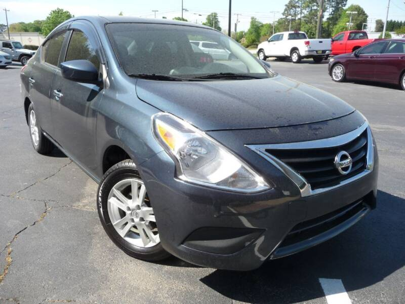 2015 Nissan Versa for sale at Wade Hampton Auto Mart in Greer SC