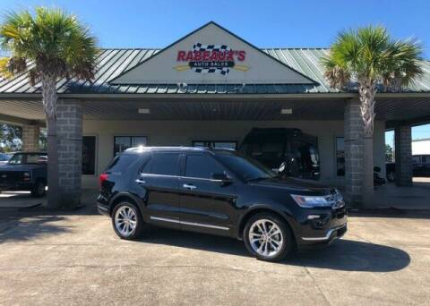 2018 Ford Explorer for sale at Rabeaux's Auto Sales in Lafayette LA