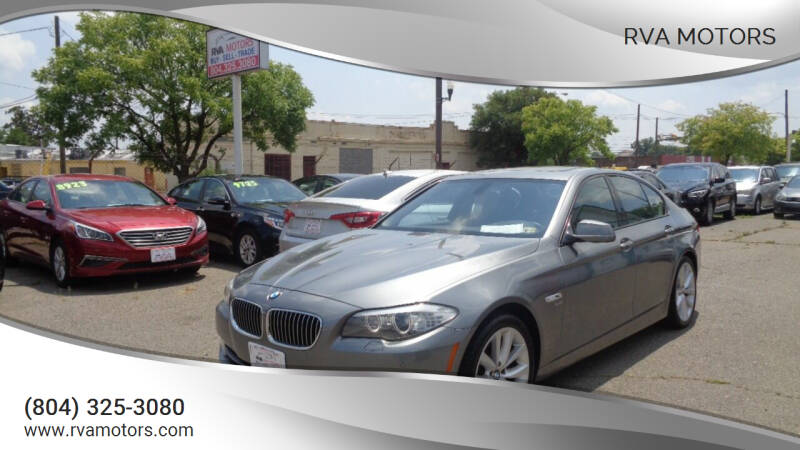 2011 BMW 5 Series for sale at RVA MOTORS in Richmond VA