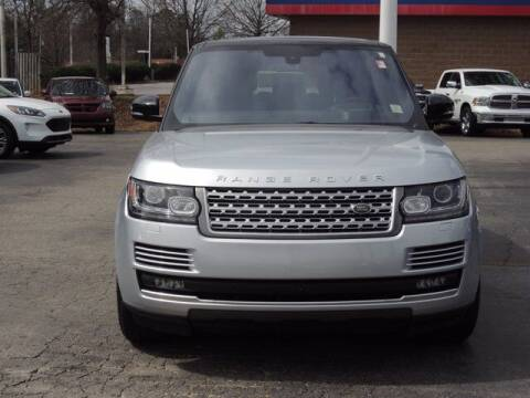 2016 Land Rover Range Rover for sale at Auto Finance of Raleigh in Raleigh NC