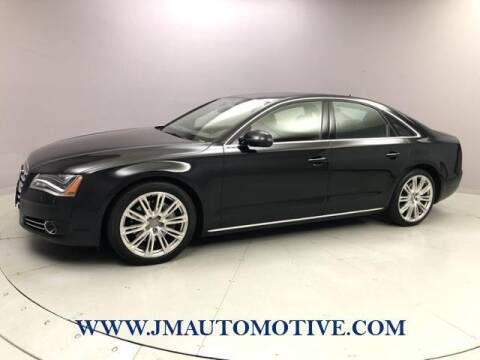 2014 Audi A8 for sale at J & M Automotive in Naugatuck CT