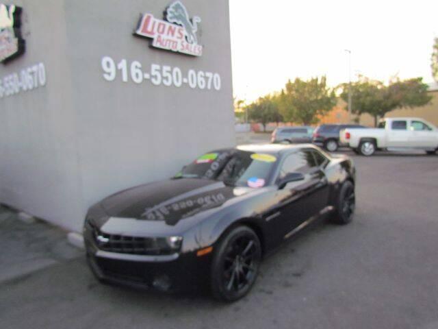2013 Chevrolet Camaro for sale at LIONS AUTO SALES in Sacramento CA