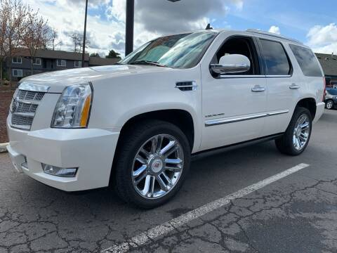 2013 Cadillac Escalade for sale at South Commercial Auto Sales in Salem OR