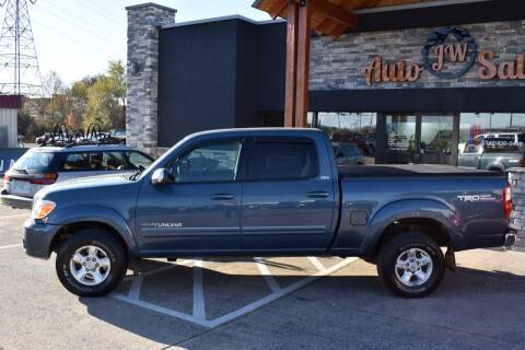 2006 Toyota Tundra for sale at JW Auto Sales LLC in Harrisonburg VA