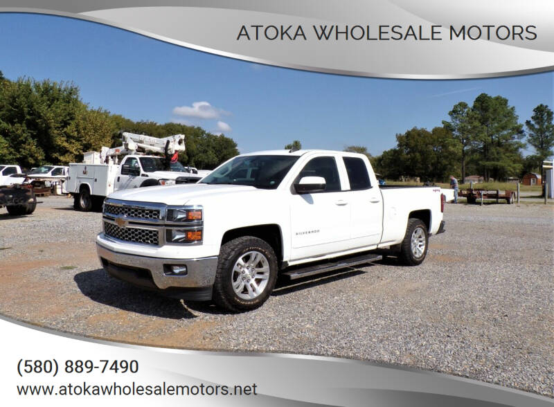 2015 Chevrolet Silverado 1500 for sale at ATOKA WHOLESALE MOTORS in Atoka OK