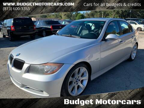 2007 BMW 3 Series for sale at Budget Motorcars in Tampa FL