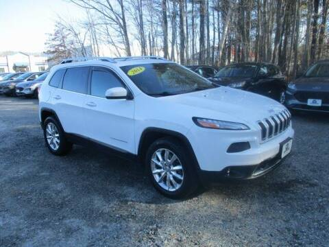 2014 Jeep Cherokee for sale at MC FARLAND FORD in Exeter NH
