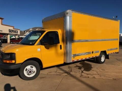 2016 GMC Savana Cutaway for sale at TRUCK N TRAILER in Oklahoma City OK