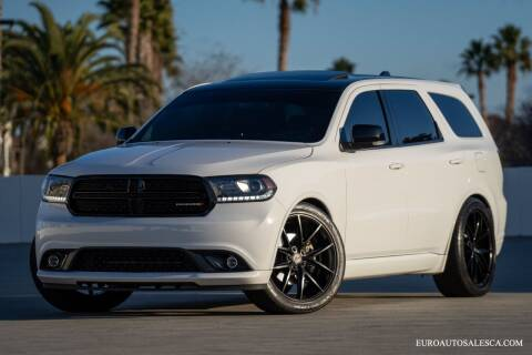 2016 Dodge Durango for sale at Euro Auto Sales in Santa Clara CA