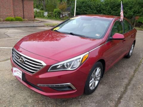 2015 Hyundai Sonata for sale at Hilton Motors Inc. in Newport News VA