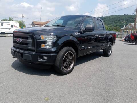2015 Ford F-150 for sale at Mulligan's Auto Exchange LLC in Paxinos PA