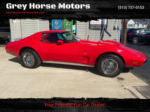 1977 Chevrolet Corvette for sale at Grey Horse Motors in Hamilton OH