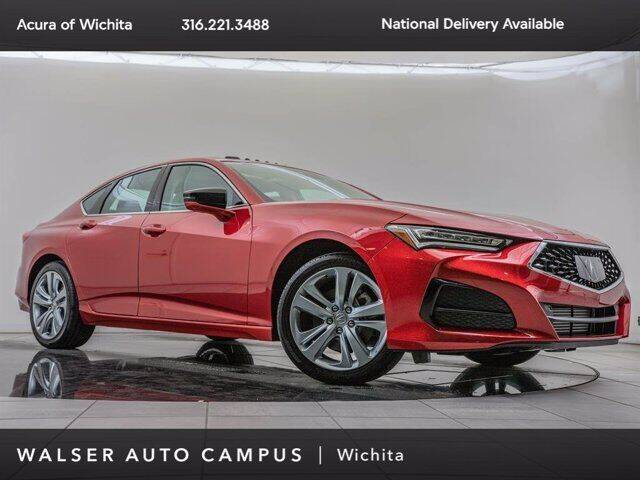 2021 Acura TLX for sale in Wichita, KS