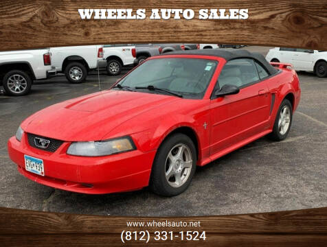 2003 Ford Mustang for sale at Wheels Auto Sales in Bloomington IN