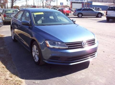 2017 Volkswagen Jetta for sale at LAKESIDE MOTORS LLC in Houghton Lake MI