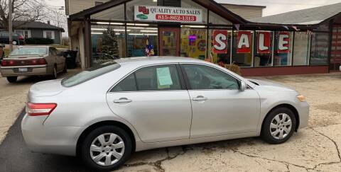 2010 Toyota Camry for sale at NJ Quality Auto Sales LLC in Richmond IL