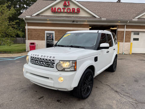 2012 Land Rover LR4 for sale at A 1 Motors in Monroe MI