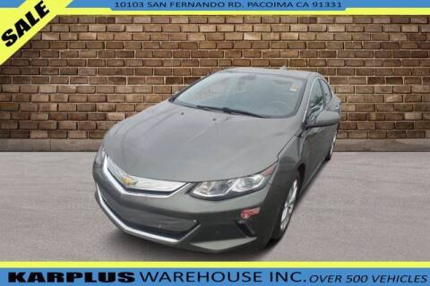 2016 Chevrolet Volt for sale at Karplus Warehouse in Pacoima CA
