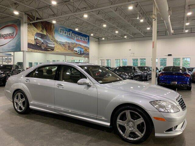 2008 Mercedes-Benz S-Class for sale at Godspeed Motors in Charlotte NC