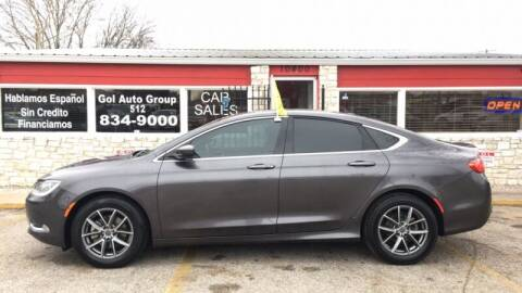 2015 Chrysler 200 for sale at GOL Auto Group in Austin TX