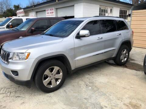 2011 Jeep Grand Cherokee for sale at Harley's Auto Sales in North Augusta SC