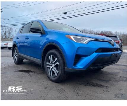2018 Toyota RAV4 for sale at RS Motors in Falconer NY