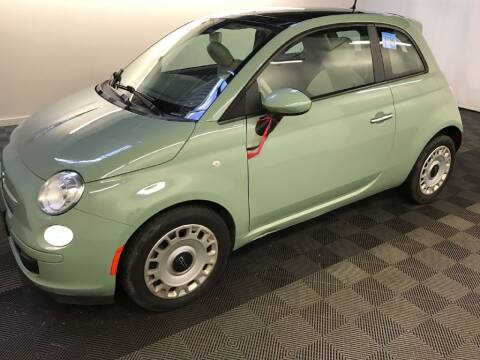 2013 FIAT 500 for sale at Cupples Car Company in Belmont NH