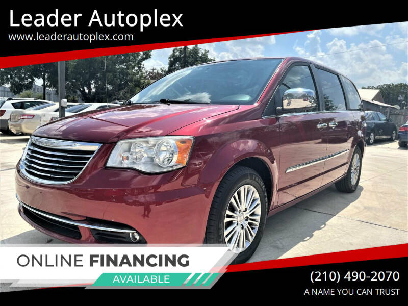 2014 Chrysler Town and Country for sale at Leader Autoplex in San Antonio TX