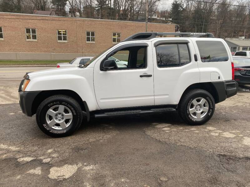 2008 Nissan Xterra for sale at Showcase Motors in Pittsburgh PA
