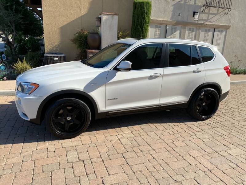2012 BMW X3 for sale at California Motor Cars in Covina CA