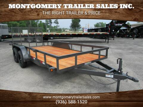 "2021 C-5 76"" X 16' Utility Trailer for sale at Montgomery Trailer Sales in Conroe TX"