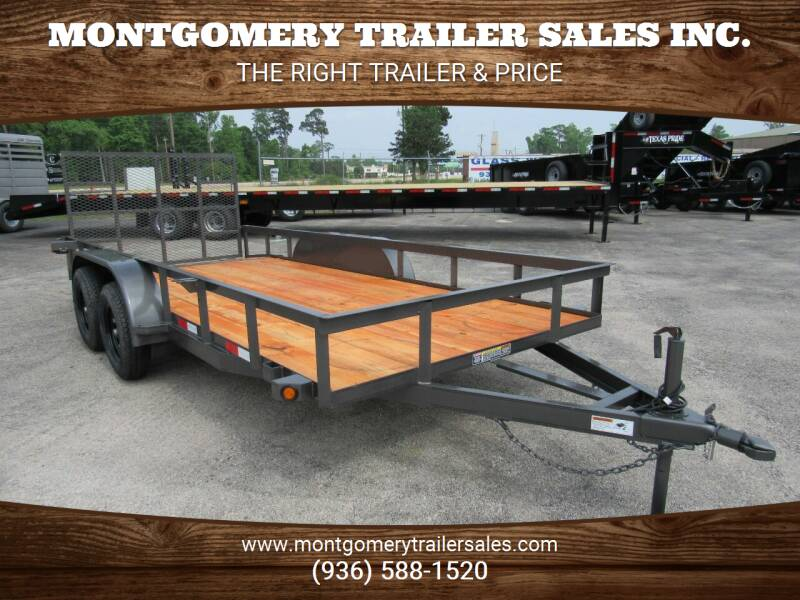 """2021 C-5 76"""" X 16' Utility Trailer for sale at Montgomery Trailer Sales in Conroe TX"""