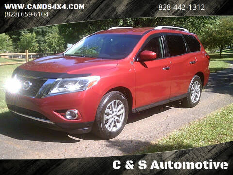 2016 Nissan Pathfinder for sale at C & S Automotive in Nebo NC
