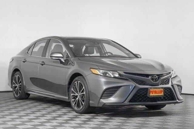 2018 Toyota Camry for sale at Washington Auto Credit in Puyallup WA