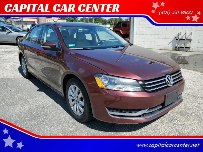 2014 Volkswagen Passat for sale at CAPITAL CAR CENTER in Providence RI