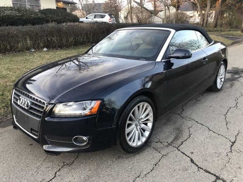 2011 Audi A5 for sale at Urban Motors llc. in Columbus OH