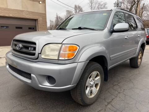 2001 Toyota Sequoia for sale at Quality Auto Sales And Service Inc in Westchester IL
