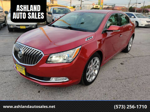 2014 Buick LaCrosse for sale at ASHLAND AUTO SALES in Columbia MO