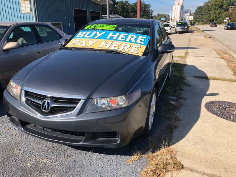 2004 Acura TSX for sale at E Motors LLC in Anderson SC