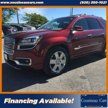 2015 GMC Acadia for sale at CousineauCars.com in Appleton WI