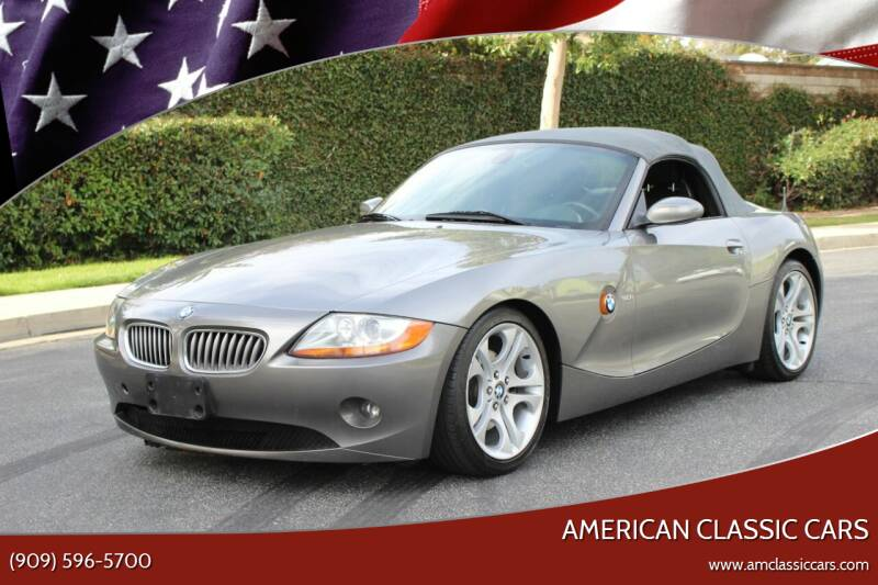 2003 BMW Z4 for sale at American Classic Cars in La Verne CA