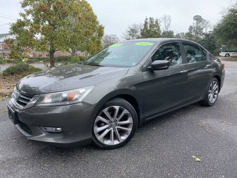 2013 Honda Accord for sale at Seaport Auto Sales in Wilmington NC