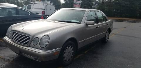 1999 Mercedes-Benz E-Class for sale at Central Jersey Auto Trading in Jackson NJ