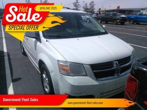 2010 Dodge Grand Caravan for sale at Government Fleet Sales in Kansas City MO
