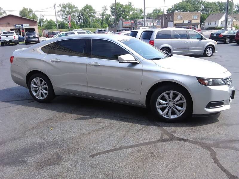 2016 Chevrolet Impala for sale at Village Auto Outlet in Milan IL