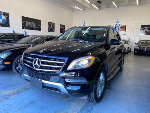 2014 Mercedes-Benz M-Class for sale at GCR MOTORSPORTS in Hollywood FL