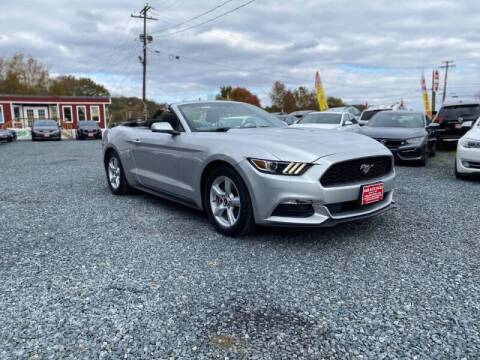2015 Ford Mustang for sale at A&M Auto Sales in Edgewood MD