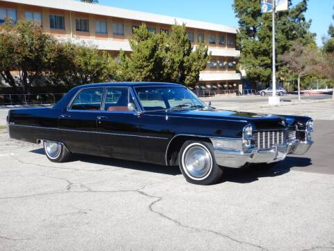 1965 Cadillac DeVille for sale at California Cadillac & Collectibles in Los Angeles CA